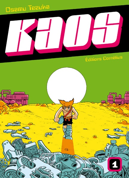 Couverture de Kaos t.1 © 1979-1979, Kodansha, 2008, Cornélius, Osamu Tezuka