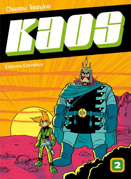 Couverture de Kaos t.2 © 1979-1979, Kodansha, 2008, Cornélius, Osamu Tezuka