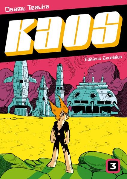 Couverture de Kaos t.3 © 1979-1979, Kodansha, 2009, Cornélius, Osamu Tezuka