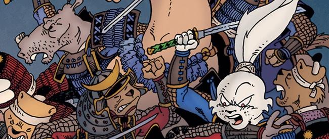 Illustration de Miyamoto Usagi © 1984, Dark Horse Comics, Stan Sakai