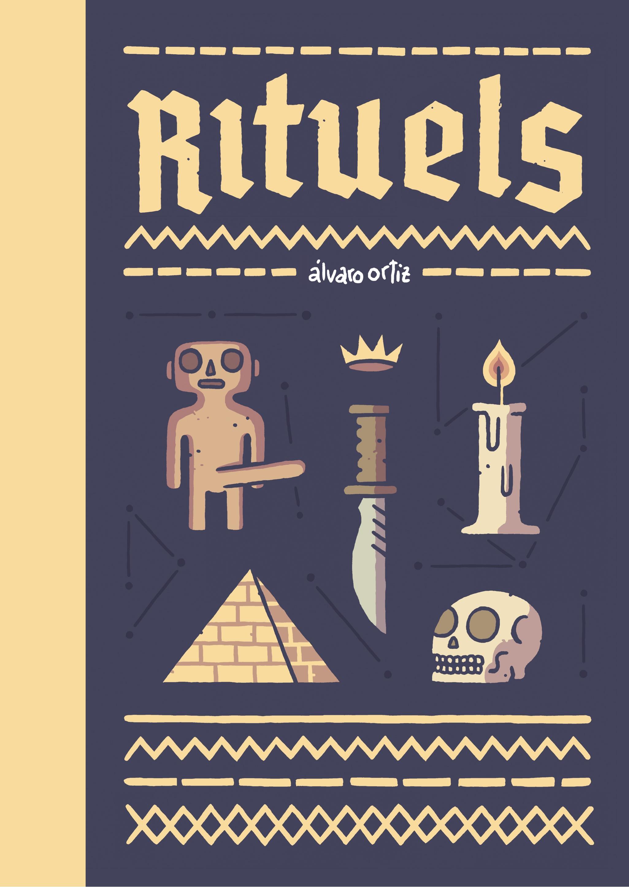 Couverture de Rituels © 2016, Rackham, 2015, Astiberri, Álvaro Ortiz