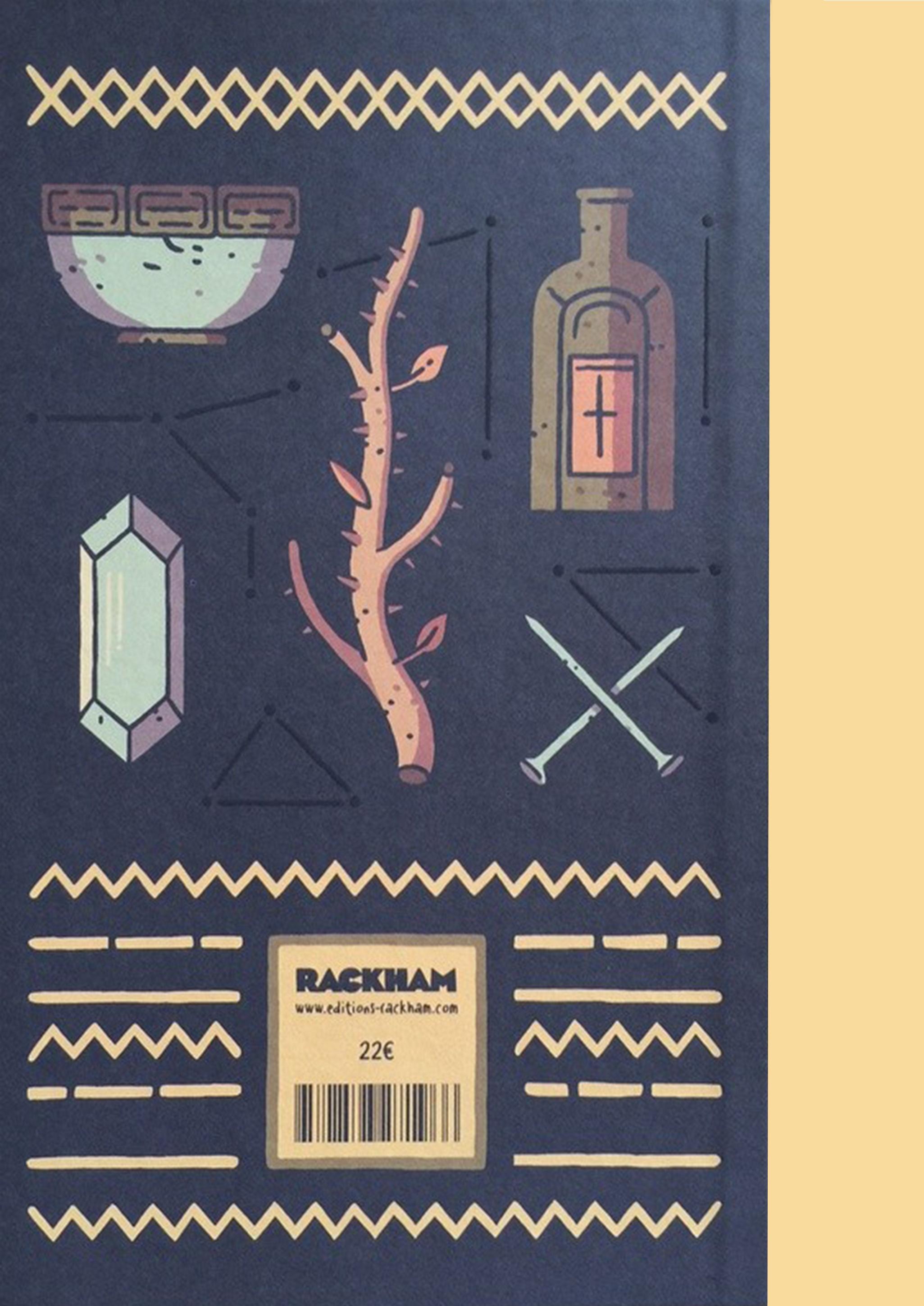 Quatrième de couverture de Rituels © 2016, Rackham, 2015, Astiberri, Álvaro Ortiz